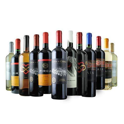 お試し12本のワインセット 白ワイン4本&赤ワイン8本