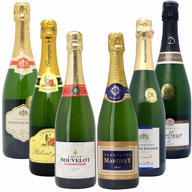 高コスパ・高品質シャンパン6本セット