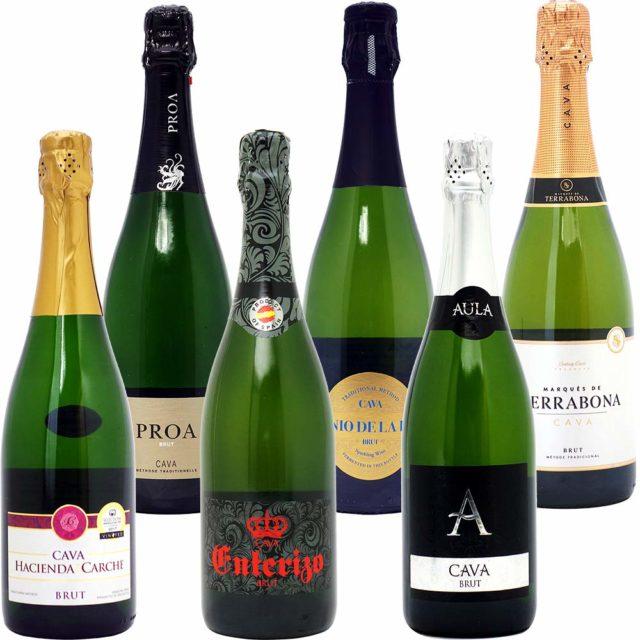 本格シャンパン製法だけの厳選泡6本セット