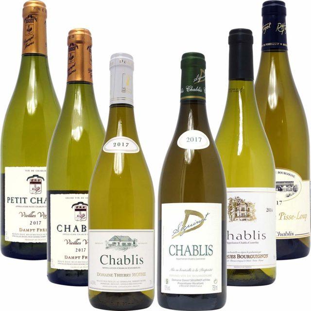 シャブリ101蔵特選 白ワイン6本セット