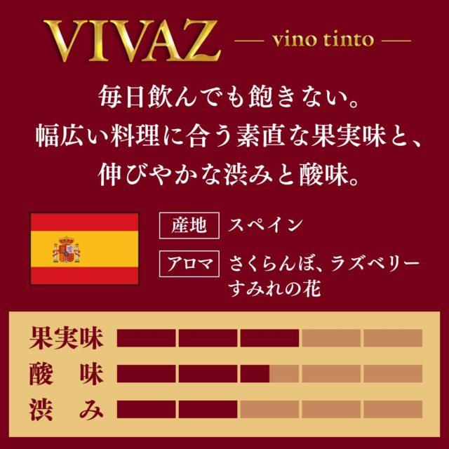 VIVAZ赤ワイン