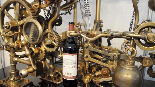 自動ワインオープナー