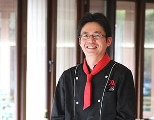 軽井沢マリオットホテル「Grill & Dining G」シェフ 江口 崇夫氏